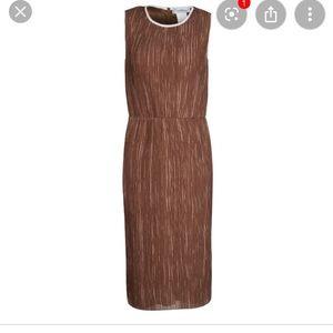 Max Mara brown tobacco dress 10